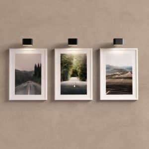 Kit Quadros Decorativos Estradas para sala ou quarto