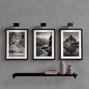 Kit quadros decorativos para sala