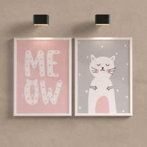 Kit Quadros Meow