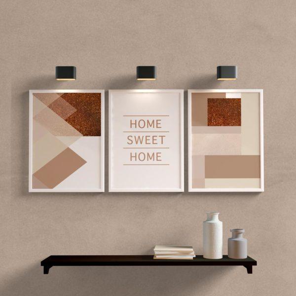 Kit Quadros Home para sala