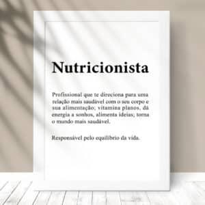 Quadro Nutricionista