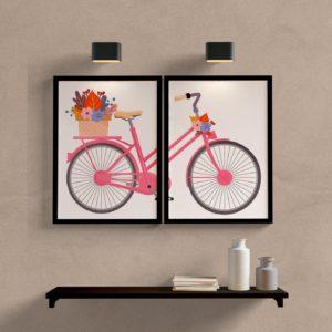 kit quadros bicicleta
