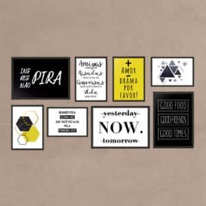 kit-quadros-decoratiovos-now-amarelo-e-preto