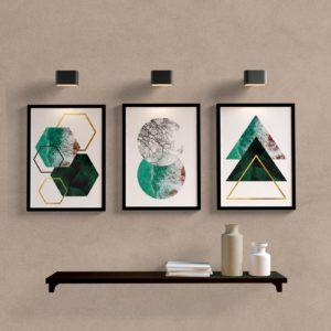 kit-quadros-decorativos-geometrico-mar-e-folhas