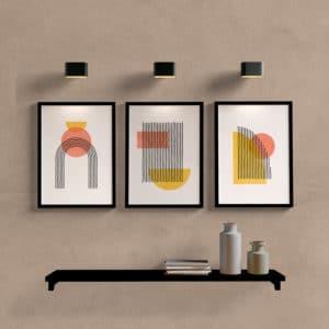 Kit quadros decorativos boho