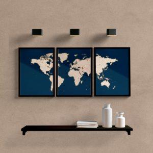 kit-quadros-mapa-mundi-azul