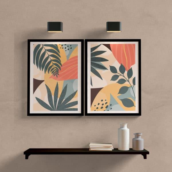 Kit Quadros Decorativos Botanic