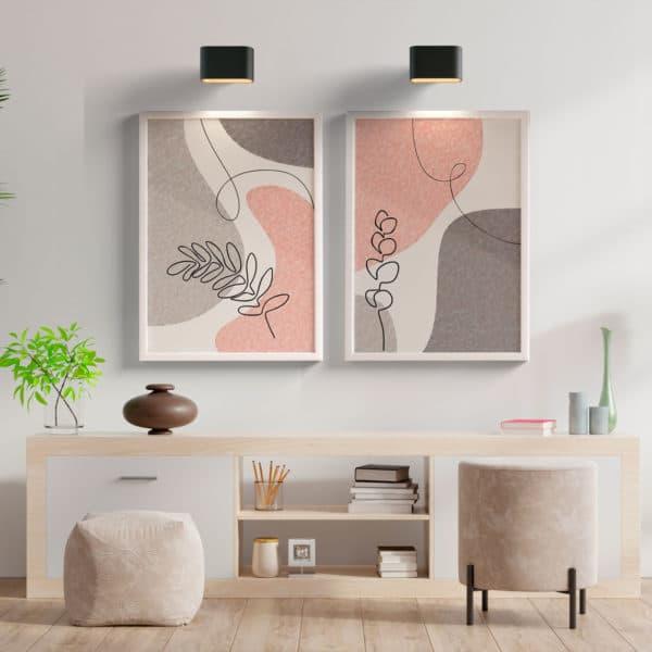 kit quadros decorativos