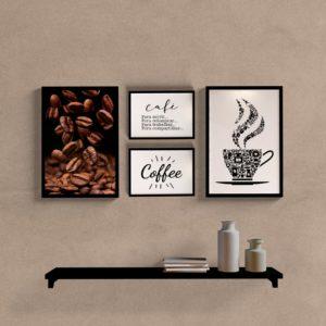 Kit Quadros Café