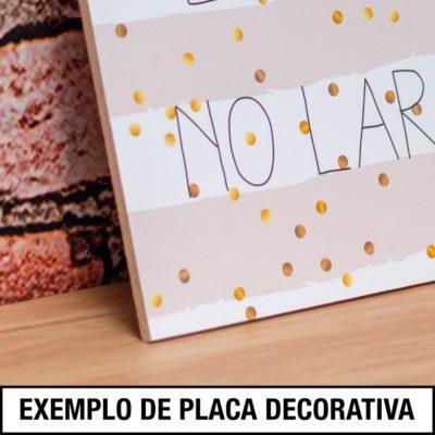 Exemplo de Placas Decorativas
