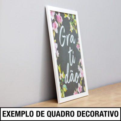 Exemplo de Quadro Decorativo